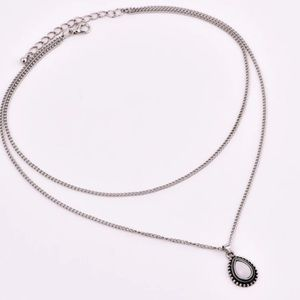 Jewelry - 🆕 Silver 2 Layer Pendent Necklace